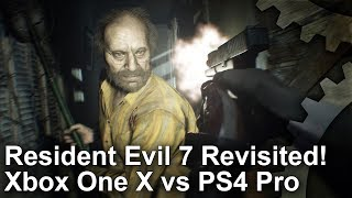 Download [4K] Resident Evil 7 on Xbox One X vs PS4 Pro: Graphics Comparison + Frame-Rate Test Video