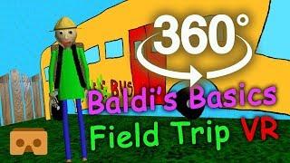 Download Baldi's Basics 360 VR Part #3: Field Trip Video