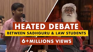 Download Sadhguru Owns The Provoked Law Students Who Try To Belittle His Work And Isha | Mystics of India Video