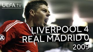 Download GERRARD, TORRES, ALONSO: LIVERPOOL 4-0 REAL MADRID, 2008/09 CHAMPIONS LEAGUE Video