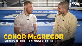 Download Conor McGregor Discusses Mayweather, Racism Accusations, Malignaggi, $100M payday - MMA Fighting Video