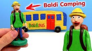 Download ЛЕПИМ БАЛДИ В ПОХОДЕ из игры Baldi's Basics Field Trip CAMPING | Видео Лепка Video