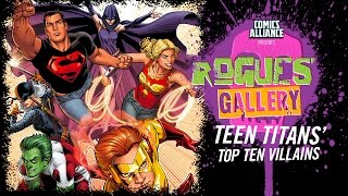 Download 10 Greatest Teen Titans Villains - Rogues' Gallery Video