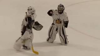 Download 8 year old hockey goalie dances to Juju on that beat Video