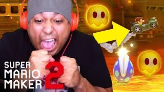 Download I CAN'T STAND THESE DAMM CARS!! NO MORE CARS!! [SUPER MARIO MAKER 2] [#08] Video