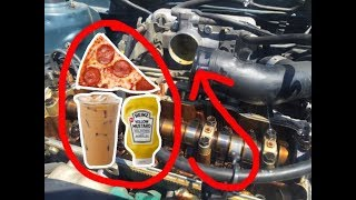 Download BLOWING UP A CAR ENGINE WITH FOOD! (BAD IDEA) Video