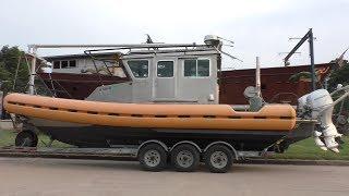 Download Coast Guard Patrol Boat to Chinese Junk Motorsailer Conversion Video