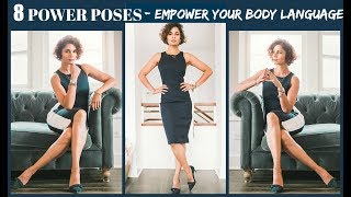 Download 8 POWER POSES- BODY LANGUAGE AND CONFIDENCE 2019 Video