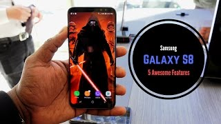 Download Galaxy S8: 5 Awesome Features Video