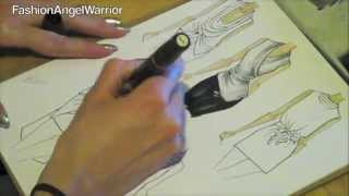 Download Fashion Sketching 101- How to become a fashion designer Video