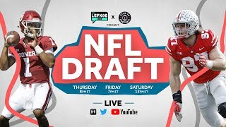Download 2019 NFL Draft Show: Live Grades & Reactions for EVERY Round 1 Pick Video