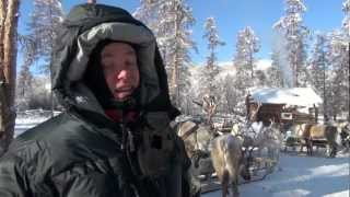 Download Extreme cold travel; Travelling with the reindeer people in below 50 minus in Siberia Video