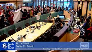 Download Watch the vote: Seattle City Council repeals head tax Video