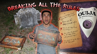 Download BREAKING ALL THE RULES OF THE OUIJA BOARD IN CEMETERY // OUIJA BOARD IN CEMETERY GONE TERRIBLY WRONG Video