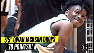 Download 5'5″ Qwan Jackson Drops 70 POINTS In a Game!!! He's ONLY 16!! Video