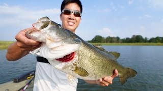 Download EPIC BASS FISHING TOURNAMENT!!! 1Rod & Jon B. vs. LunkersTV & Andrew Flair Video