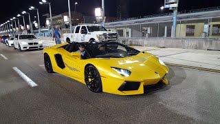 Download Lamborghini VS Bugatti VS Porsche 918 VS Pagani Huayra RACING at Halloween Supercar RUN 2016 Video