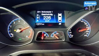 Download 2016 Ford Focus RS (350hp) - 0-200 km/h acceleration (60FPS) Video