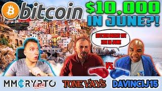 Download DavinciJ15 vs Tone Vays - Bitcoin to $10'000 in JUNE? Video