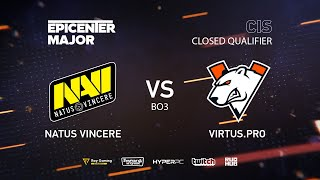 Download Natus Vincere vs Virtus.pro, EPICENTER Major 2019 CIS Closed Quals , bo3, game 2 [Maelstorm & Lost] Video