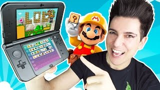 Download JUGANDO A MARIO MAKER 3DS!!! | Desafio Super Mario Video