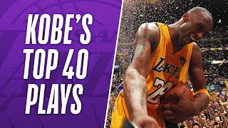 Download Kobe Bryant's TOP 40 Plays of His NBA Career! Video