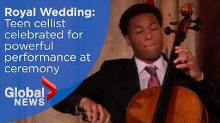 Download Royal Wedding: Teenage cellist celebrated for powerful performance at ceremony Video