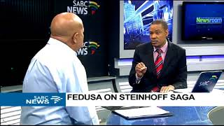Download FEDUSA on Steinhoff saga Video