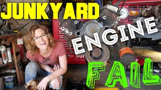 Download JUNKyard engine FAIL! In the shop with Emily EP 45 Video