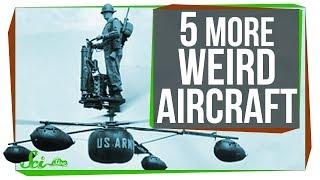 Download 5 More Strange Flying Machines Video