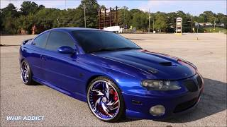 Download WhipAddict: Kandy Cobalt Blue 05' Pontiac GTO on Rucci Forged Breitling 20s Video