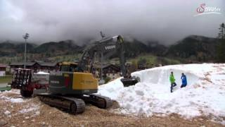 Download Snowfarming in Ramsau am Dachstein - Loipen im November garantiert Video