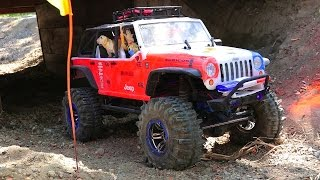 Download RC ADVENTURES - Trail Truck 4x4 Trial Highlights - 1/10th Scale, Blackfoot RC & Rude Boyz RC! Video