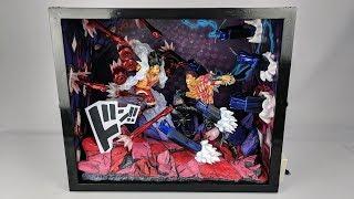 Download [OPEN BOX] JacksDo Luffy G4 Snakeman vs Katakuri GK Statue Video