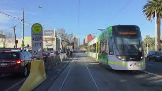 Download 2017 Melbourne Tram Route 96 Driver View Winter AM Peak Service Video