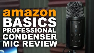 Download AmazonBasics Professional USB Condenser Microphone Review / Test Video