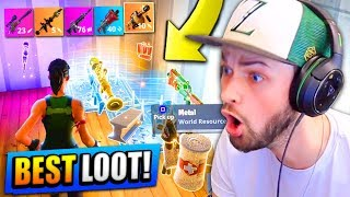 Download BEST LOOT EVER! (LEGENDARY WEAPONS!) - Fortnite: Battle Royale (Road to Rank #1) Video