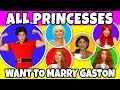 Download ALL DISNEY PRINCESSES WANT TO MARRY GASTON. Totally TV Videos for Teens. Video