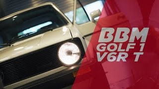 Download ″Sieht aus wie Serie″ | Golf 1 V6R Turbo Umbau Messen by BBM Video