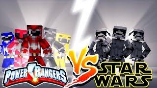Download POWER RANGERS VS STAR WARS - Minecraft Challenge Video