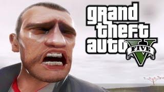 Download GTA V Gameplay Trailer - Niko's Dramatic Reaction Video