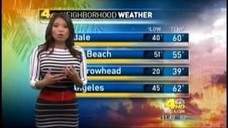 Download Elita Loresca Busty Hot Weathergirl Filipino newscaster Video