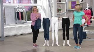 Download Spanx Distressed Skinny Jean on QVC Video