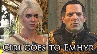 Download Witcher 3: Ciri Meets Her Father (Emperor Emhyr) Video