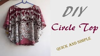 Download DIY Circle Top Cutting And Stitching Full Tutorial Video