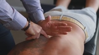 Download Dr. Ian - Breathing RESTRICTED and acute thoracic PAIN - FIXED by Gonstead Chiropractic Video