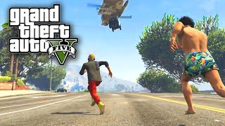 Download GTA 5 PC Online Funny Moments With THE PACK! BANTER BUS & Helicopter Extraction! Video