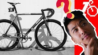 Download MASH 2018 Frameset, Brakeless Is Safe(ish) & $1,500 for 1st Fixed Gear? | Fixed Gear Q&A 3 Video