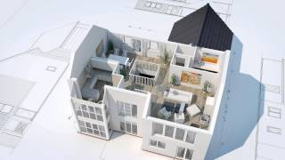Download 3D House Animation Video