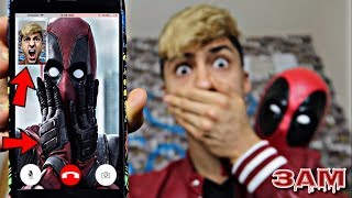 Download DO NOT FACETIME DEADPOOL AT 3AM!! *OMG HE CAME TO MY HOUSE* Video